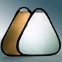 Отражатель Visico 60cm TR-051 треугольный серебро/золото