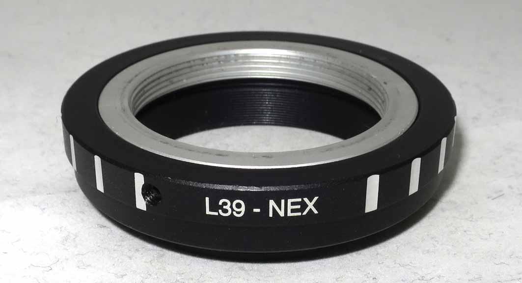 Переходное кольцо M39-NEX б/у