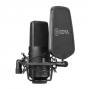 Микрофон студийный Boya BY-M800 Широкомембранный кардиоидный конденса