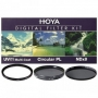 Набор фильтров Hoya 46 mm KIT: UV (C) HMC MULTI, PL-CIR, NDX8 84164
