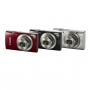 Фотоаппарат Canon IXUS 185 черный / серебро / красный