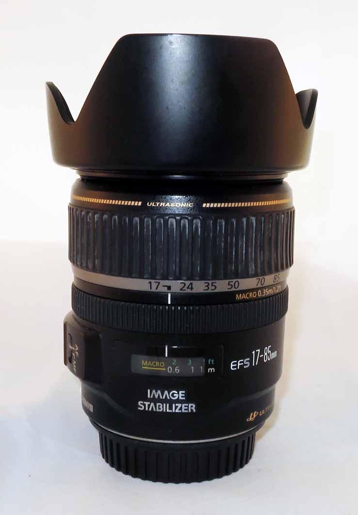 Объектив Canon EF-S 17-85mm f/4-5,6 IS USM б/у