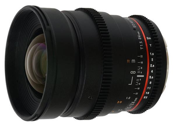 Объектив Samyang Canon EF 24mm T1.5 ED AS UMC VDSLR II