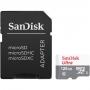 Карта памяти micro SDXC 128Gb Sandisk Ultra Class 10 UHS-I + ADP 80/1