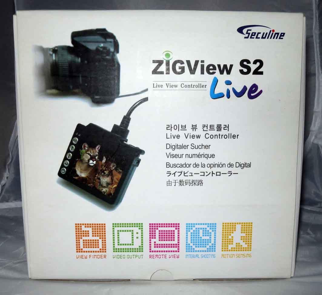 Видео-видоискатель ZigView S2 б/у