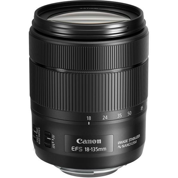 Объектив Canon EF-S 18-135 mm f/3.5-5.6 IS USM nano