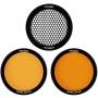 Набор фильтров и сот Profoto 101302 Clic Grid & Gel Kit для A1/A1X/C1