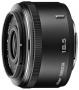 Объектив Nikon 1 Nikkor 18.5mm f/1.8 (белый/черн/серебро)