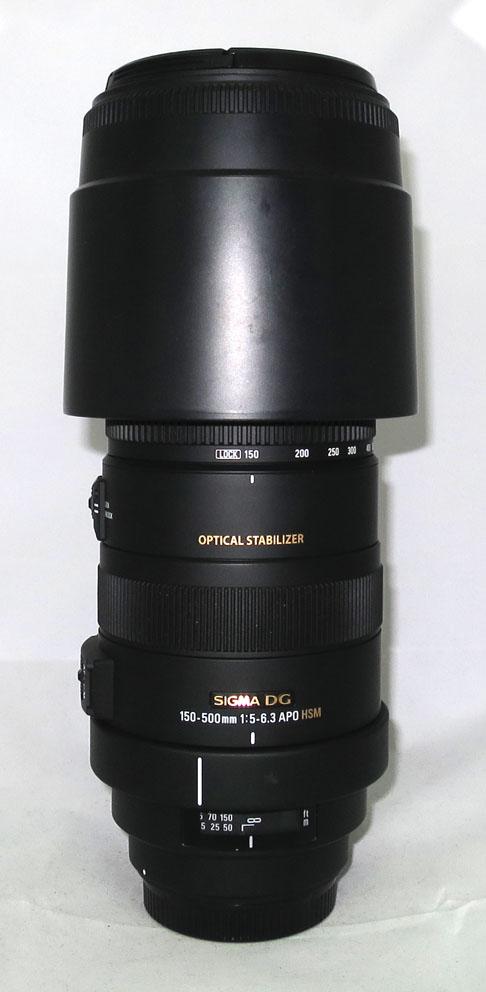 Объектив Sigma для Canon AF 150-500 mm f/5.0-6.3 APO DG OS б/у