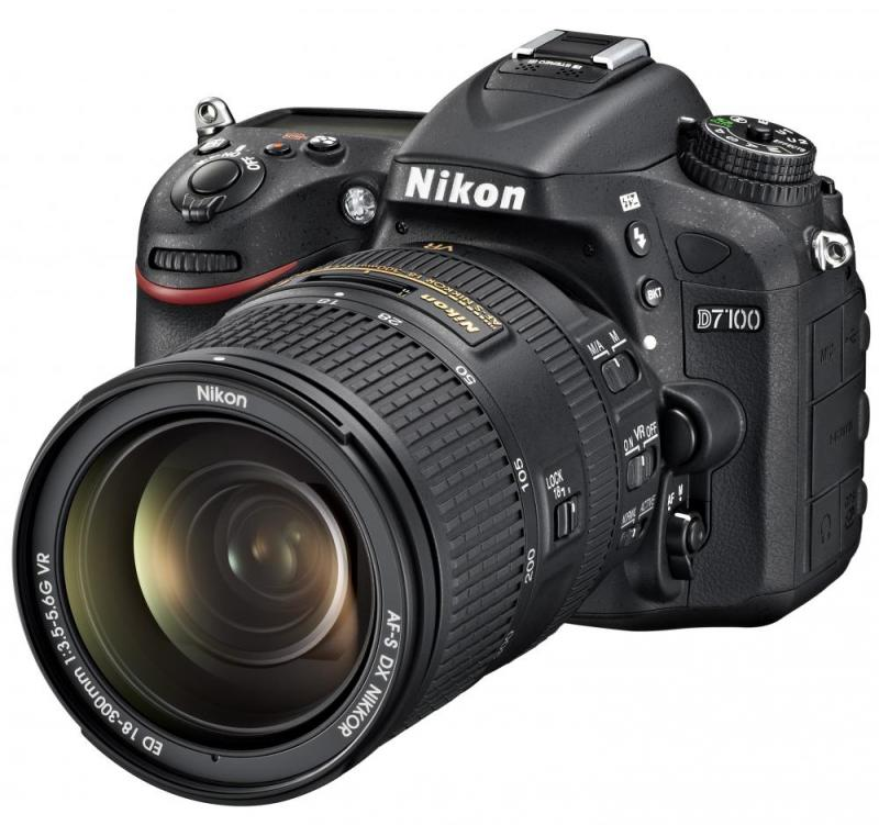 Фотоаппарат Nikon D7100 Kit AF-S 18-300 VR