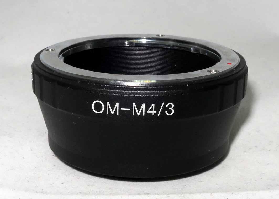 Переходное кольцо OM-M4/3 без чипа б/у