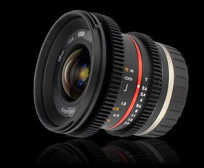 Объектив Samyang Sony E-mount 12mm T2.2 NCS CS Cine