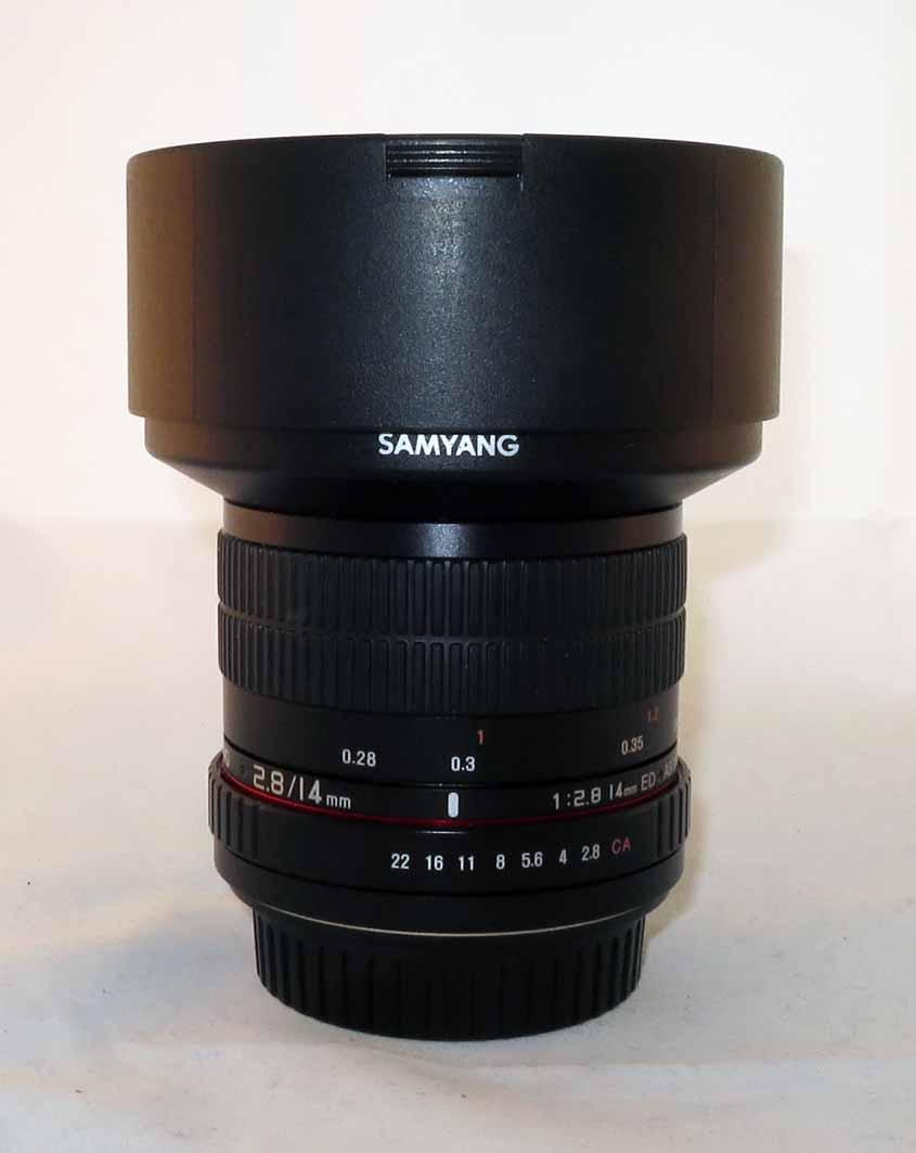 Объектив Samyang Canon EF 14mm f/2.8 ED AS IF UMC б/у...