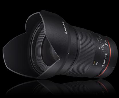 Объектив Samyang Canon EF 35 mm F/1.4 AE