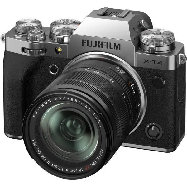Фотоаппарат Fujifilm X-T4 Kit 18-55mm F2.8-4 OIS серебро