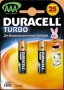 Батарейка LR03 DURACELL TURBO 1шт