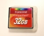 Карта памяти CF 32GB Transcend 133х б/у
