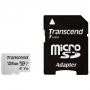 Карта памяти micro SDXC 128Gb Transcend 300S UHS-I U3 V30 A1 90/45 Mb