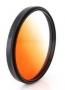 Фильтр градиентный Fujimi GC-Orange 72mm оранжевый