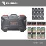 Кейс Fujimi FJHBK1284 для карт памяти жёсткий 12 MicroSD, 8 SD, 4 CF