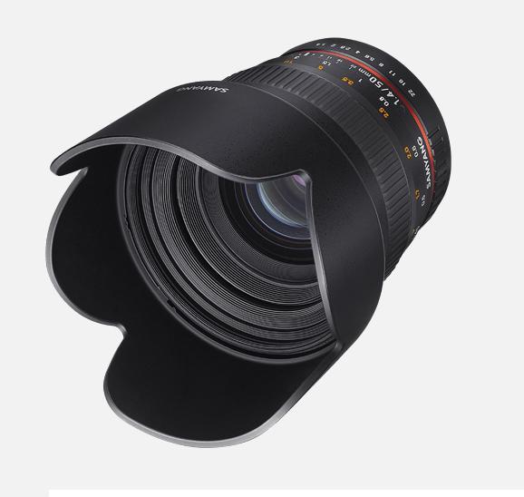 Объектив Samyang Fuji X 50mm f/1.4 AS UMC