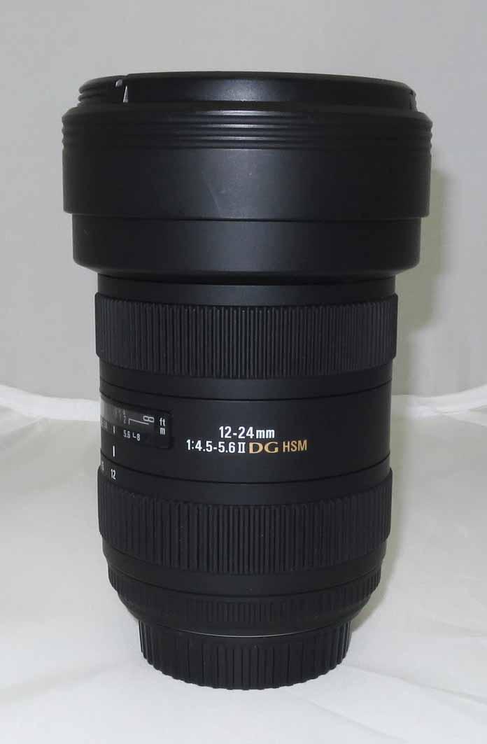 Объектив Sigma для Canon AF 12-24 mm f/4.5-5.6 II DG HSM б/у
