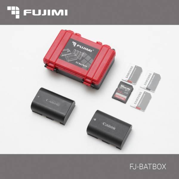 Кейс Fujimi FJ-BATBOX Универсальный для батарей и карт памяти. 2 акб,