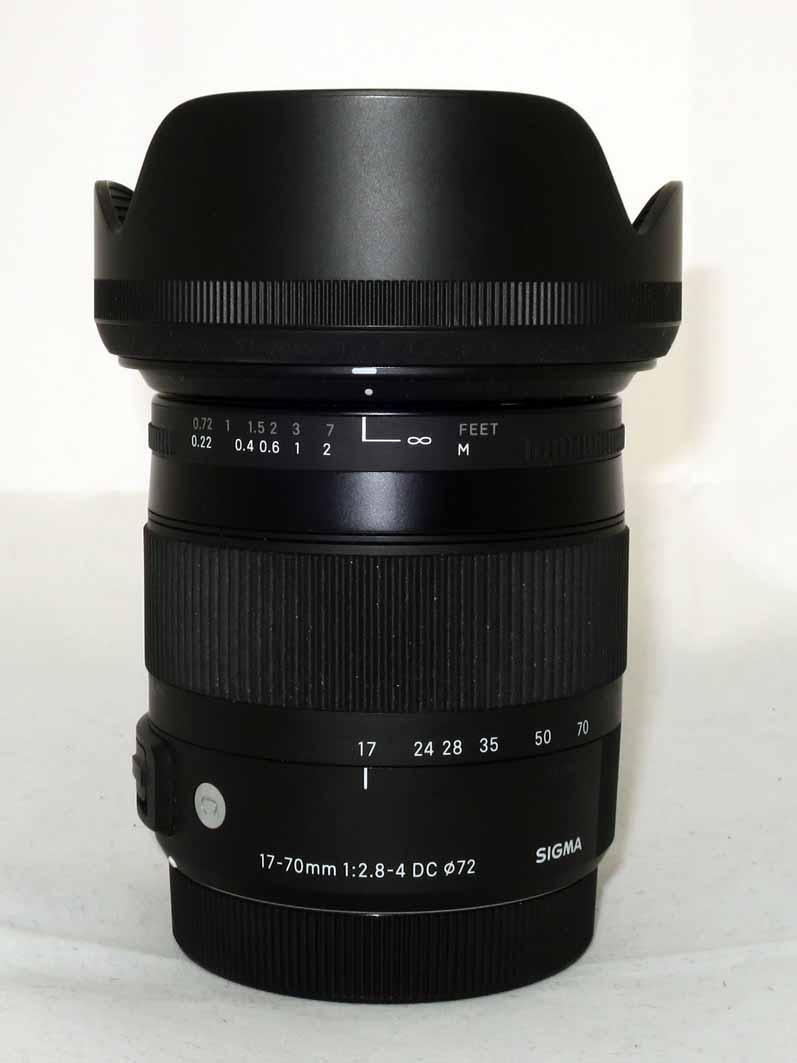 Объектив Sigma для Canon 17-70mm f/2.8-4 DC MACRO OS HSM б/у