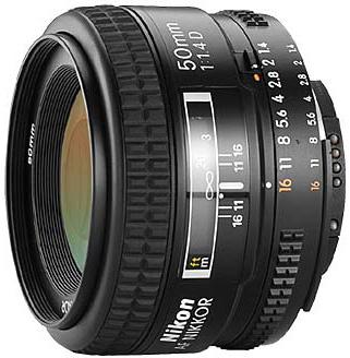 Объектив Nikon Nikkor AF 50 f/1.4D