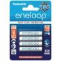 Аккумулятор Panasonic Eneloop AAA 750mAh 4шт. (BK-4MCCE/4BE) 82563