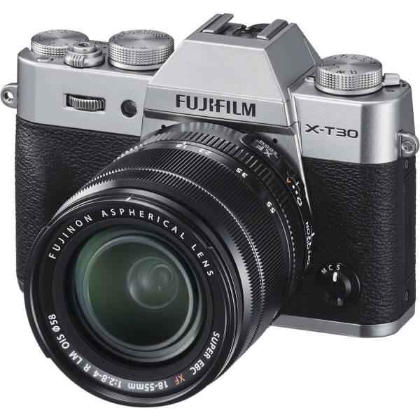 Фотоаппарат Fujifilm X-T30 Kit 18-55mm F2.8-4 OIS серебро