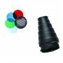 Насадка коническая FST SN-100 Bowens с сотой и цветными фильтрами