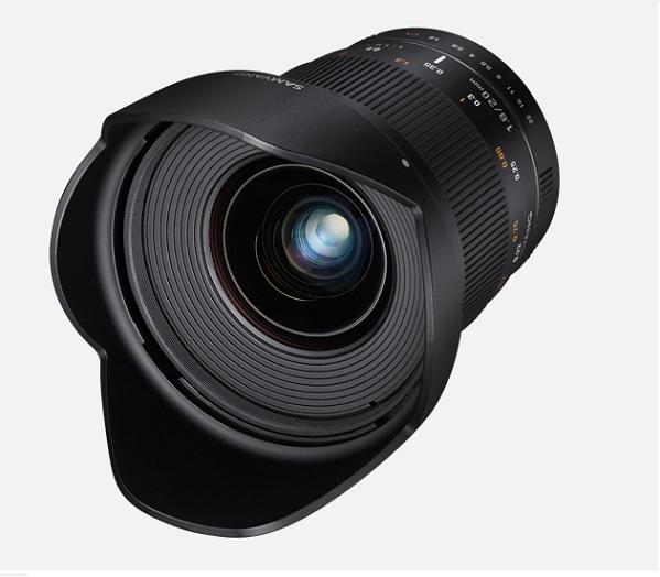 Объектив Samyang Fuji X 20mm f/1.8 ED AS UMC