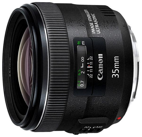 Объектив Canon EF 35 f/2.0 IS USM