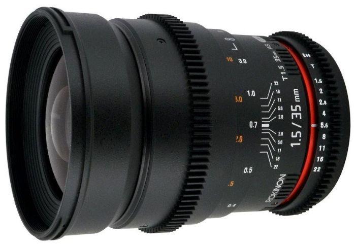 Объектив Samyang Canon EF 35mm T1.5 ED AS UMC VDSLR II