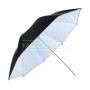 Зонт Falcon Eyes 122 см URK-60TWB отраж/просвет/белый/полупрозрач/чер