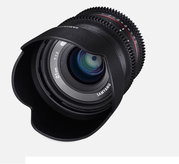 Объектив Samyang Fuji X 21mm T1.5 ED AS UMC CS CINE