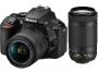Фотоаппарат Nikon D5600 kit AF-P 18-55VR + 70-300VR