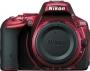 Фотоаппарат Nikon D5500 Body красный