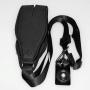 Ремень наплечный Fotokvant STR-34 неопреновый черный с площадкой
