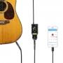Адаптер микрофона Saramonic SmartRig Di и гитары на Apple Lightning A
