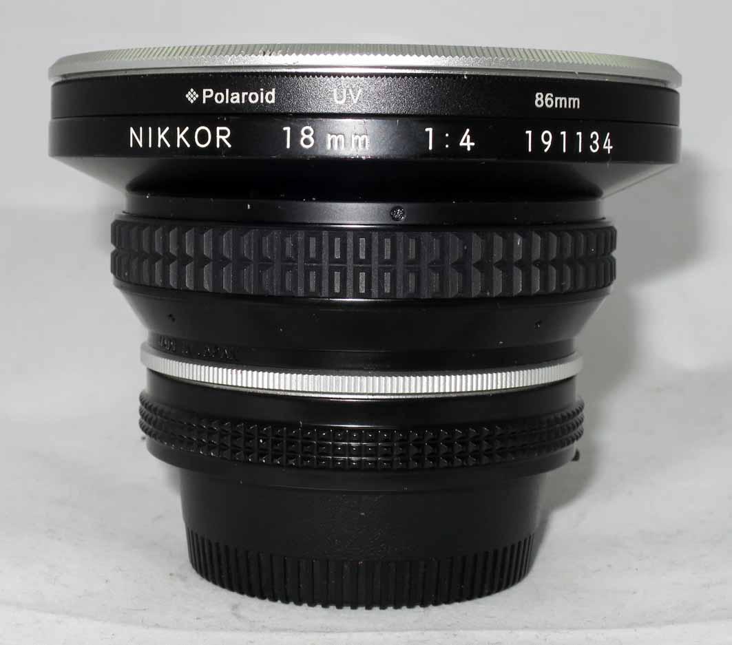 Объектив Nikon Nikkor 18 mm f/4 б/у