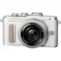 Фотоаппарат Olympus PEN E-PL8 kit 14-42 EZ Pancake белый
