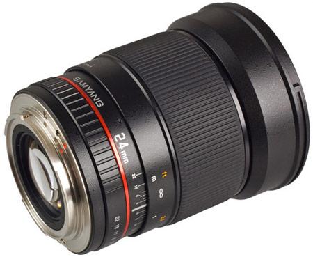 Объектив Samyang Canon EF 24 mm F/1.4