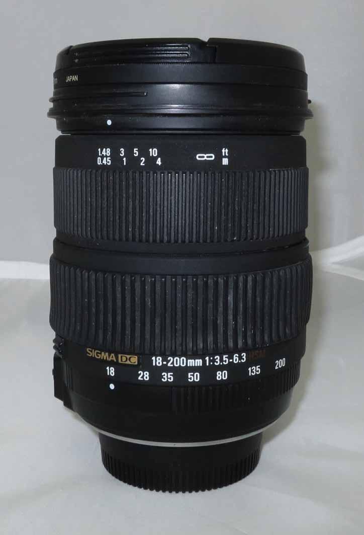 Объектив Sigma (Nikon) AF 18-200 mm f/3,5 - 6,3 OS б/у