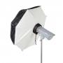 Зонт Falcon Eyes 88 см UB-48B отражатель с рассеивателем 27872