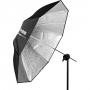 "Зонт Profoto 100975 Umbrella Shallow Silver M 105cm/41"""