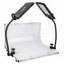Стол для фото съёмки Falcon Eyes SLPK-2120LTV с осветителями светодио