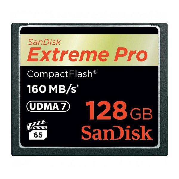 Карта памяти CF 128Gb Sandisk Extreme Pro 160MB/s SDCFXPS-128G-X46