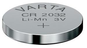 Батарейка CR 2032 Lithium 1 шт. Varta